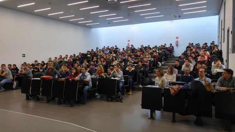Conferencia Raúl Ibañez - Audiencia