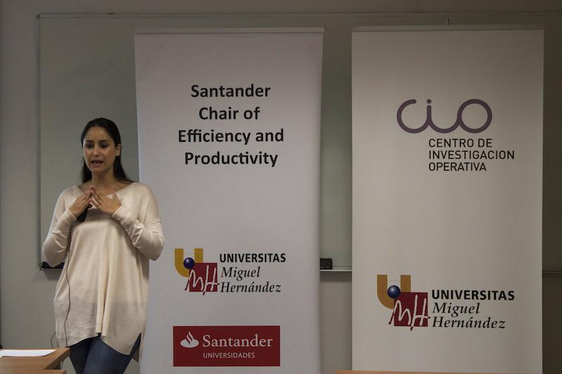 Cristina Polo en la conferencia
