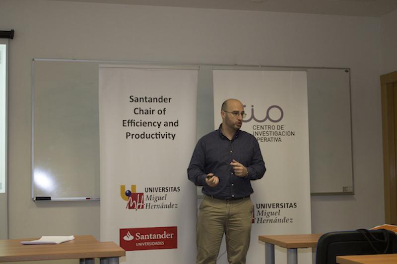 José Manuel Cordero en la conferencia